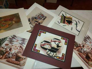 6 pcs  of American Indian Art