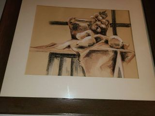 Judy Dove Pencil Art 24 x 27 5
