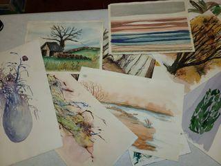 10 pcs  Miscellaneous Water Colors