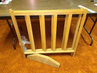 Wooden Print Rack 32 x 33 5  Needs put together