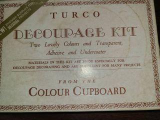 TURCO Decoupage Kit