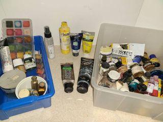 Miscellaneous Paints  Oils  Acrylic  etc