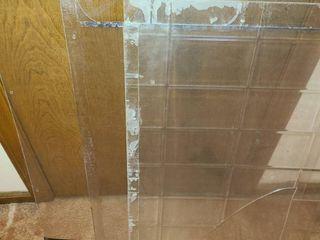 Plexiglass  3 Sheets  Approximately 24 x 30