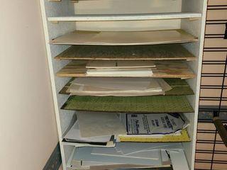 Homemade Shelf  Comes with Various Paper  13 Shelf 72 x 24 x 18