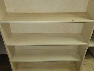 Book Shelf  4 Shelves  48 x 36 x 9 5