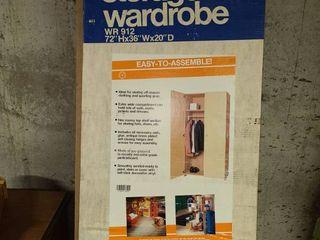 Jumbo Hinged Wardrobe Storage  72 x 36 x 20  NEW IN BOX  Bring Help  Very HEAVY 150lbs