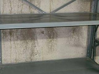 Metal Shelf  Shelf Only  No Contents   68 x 36 x 18