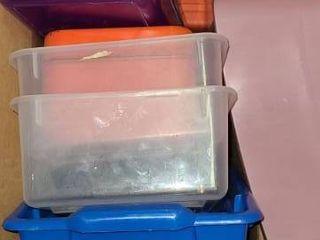 Storage Bins  Different Sizes