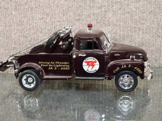 Vintage 1953 Chevy Wrecker   Thunder Towing    50100    1 24 Scale