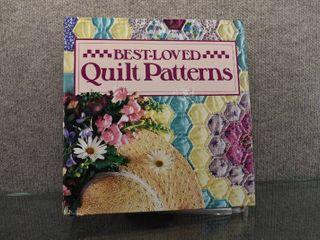 Vintage Best loved Quilt Patterns w  Binder