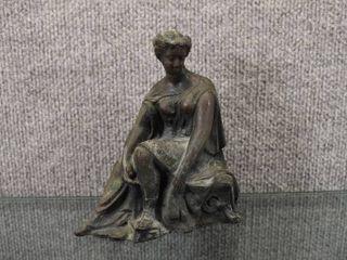 Vintage Cesars Pot Metal Figure   6 1 2  Tall