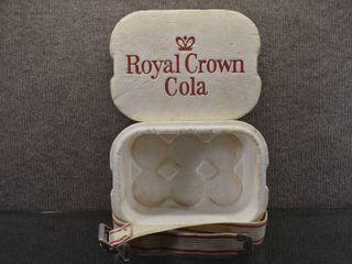 Vintage Royal Crown Cola Mini Cooler