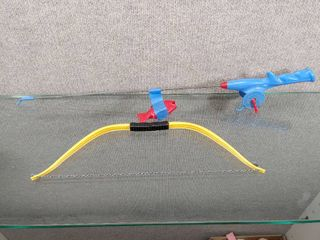 Children s Fishing Toy and Yellow Bow   No Arrows