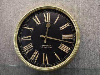 Vintage london Wall Clock   14  Diameter