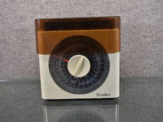 Vintage Terraillon Kitchen Scale 1970 s   6 lB