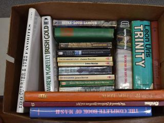 lot of 18 Irish Themed and Other Fiction Non Fiction Books
