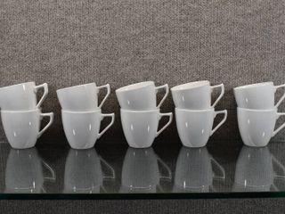 Set of 10 Royal M  Genuine Ironstone  Futura  Japanese Tea Cups