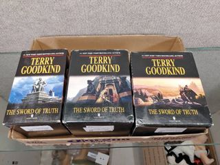 lot of 3 Box Sets Terry Goodkind The Sword of Truth Series Box Sets 1995   New York  1 Best Selling Author
