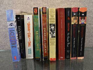 lot of 10 Fantasy Paperback Books   Authors   Darren Shan  Gordon Dickson   More