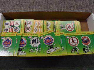 Vintage Box lot Fleer Action Series Baseball Quiz Cards 1990   Fleer