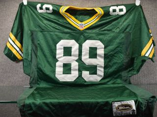 Vintage Chmura  89 Green Bay Packers Jersey   Authentic Wilson Game Equipment   Unkn size