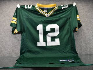 Vintage Rodgers  12 Green Bay Packers Jersey Xl   Reebok   Xl