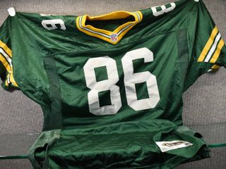 Vintage Freeman  86 Green Bay Packers Jersey   Authentic Wilson Game Equipment   Size 48