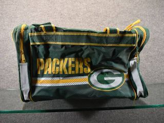 lot of Green Bay Packers  Flag  Tote  Doll  Blanket and Scarf