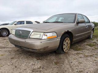 2004 Mercury Grand Marquis GS   VIN 2MEFM74W64X690428