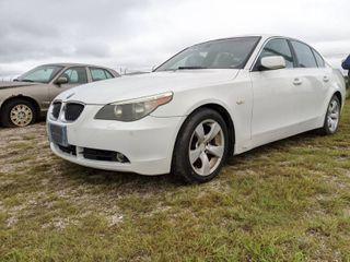 2007 BMW 525i   VIN WBANE53547CY04755