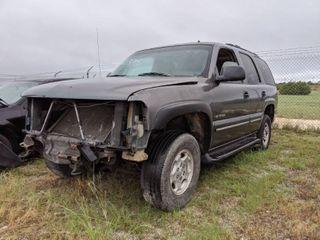 2002 Chevy Tahoe   VIN 1GNEC13Z12R229855