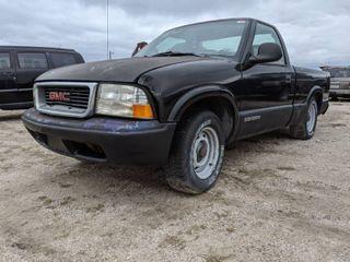 1998 GMC Sonoma   VIN 1GTCS1444W8519511