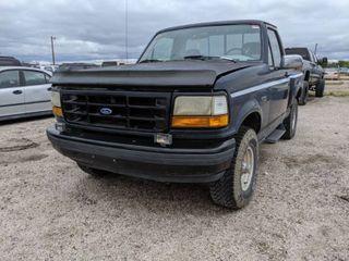 1992 Ford F150 Flare Side   VIN 1FTEF14N0NKB37628