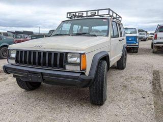 1984 Jeep Cherokee V6 2 8l  VIN 1JCWB7814ET108233