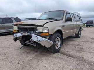 1999 Ford Ranger XlT   VIN 1FTYR14X7XTA81531