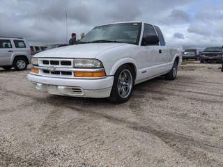 1998 Chevy S10   VIN 1GCCS1946WK261858