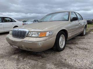 1998 Mercury Grand Marquis lS   VIN 2MEFM75W2WX635735