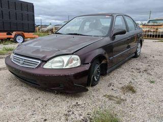 1999 Honda Civic lX Parts Car   VIN 2HGEJ667XYH508401