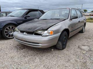 1997 Chevy Prizm Parts Car  VIN 1Y1SK5283WZ408298