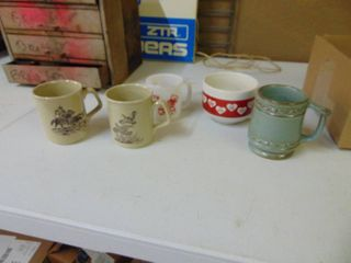 Misc  Coffee Mugs  Frankoma and Tom and Jerry