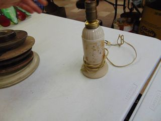 Hopalong Cassidy lamp  working condition