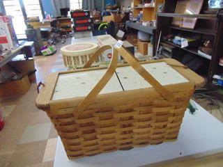 Picnic Basket   Vintage Starburst