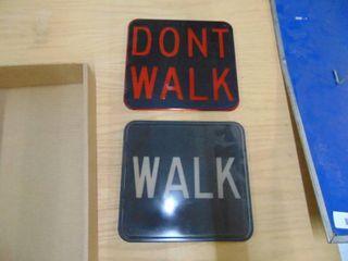 Walk   Dont Walk Sign Shades