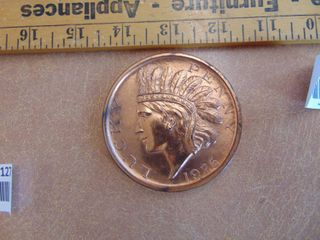 lucky Penny large coin   paperweight