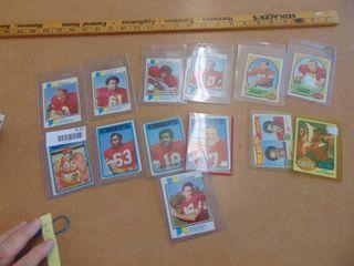 13 vintage Kansas City Chiefs Dawson  lanier  Buchanan