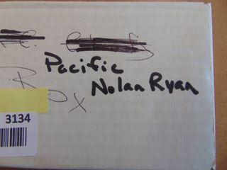 Box of Nolan Ryan Pacific baseball cards