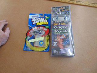Finger Board and Teck Deck Mini