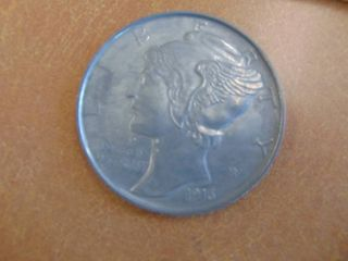 liberty Dime large coin  paperweight