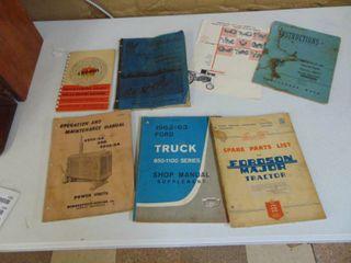Misc  Implement Brochures and Paperwork