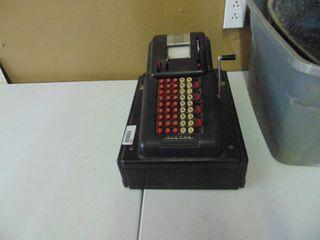 Vintage Victor Cash Register
